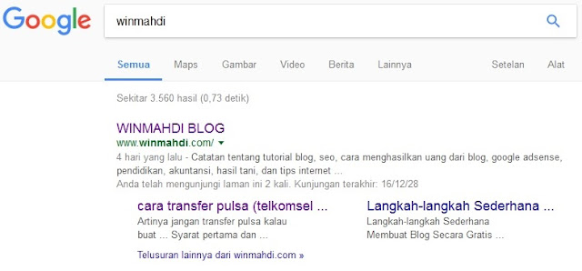 sitelinks-google