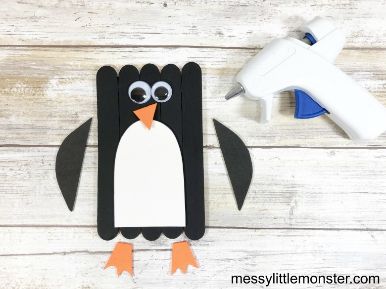 Arctic Animal Penguin Craft