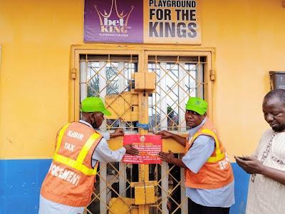 Kaduna shuts down Bet9ja, Access Bet, King bet, others