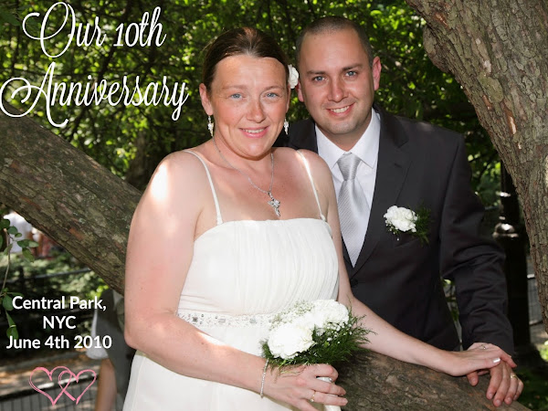 Celebrating Our 10th Wedding Anniversary