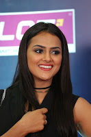 Actress Shraddha Srinath Stills in Black Short Dress at SIIMA Short Film Awards 2017 .COM 0084.JPG