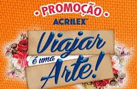 Participar Promoção Tintas Acrilex 2016 Viajar É Uma Arte