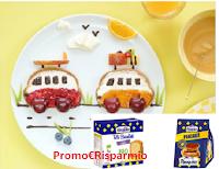 Logo Rispondi e vinci gratis i prodotti Brioche Pasquier