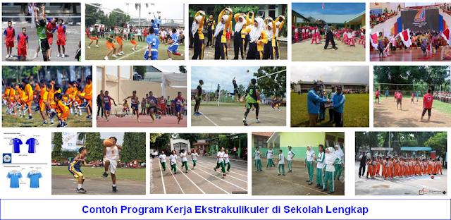 Contoh Program Kerja Ekstrakulikuler di Sekolah Lengkap