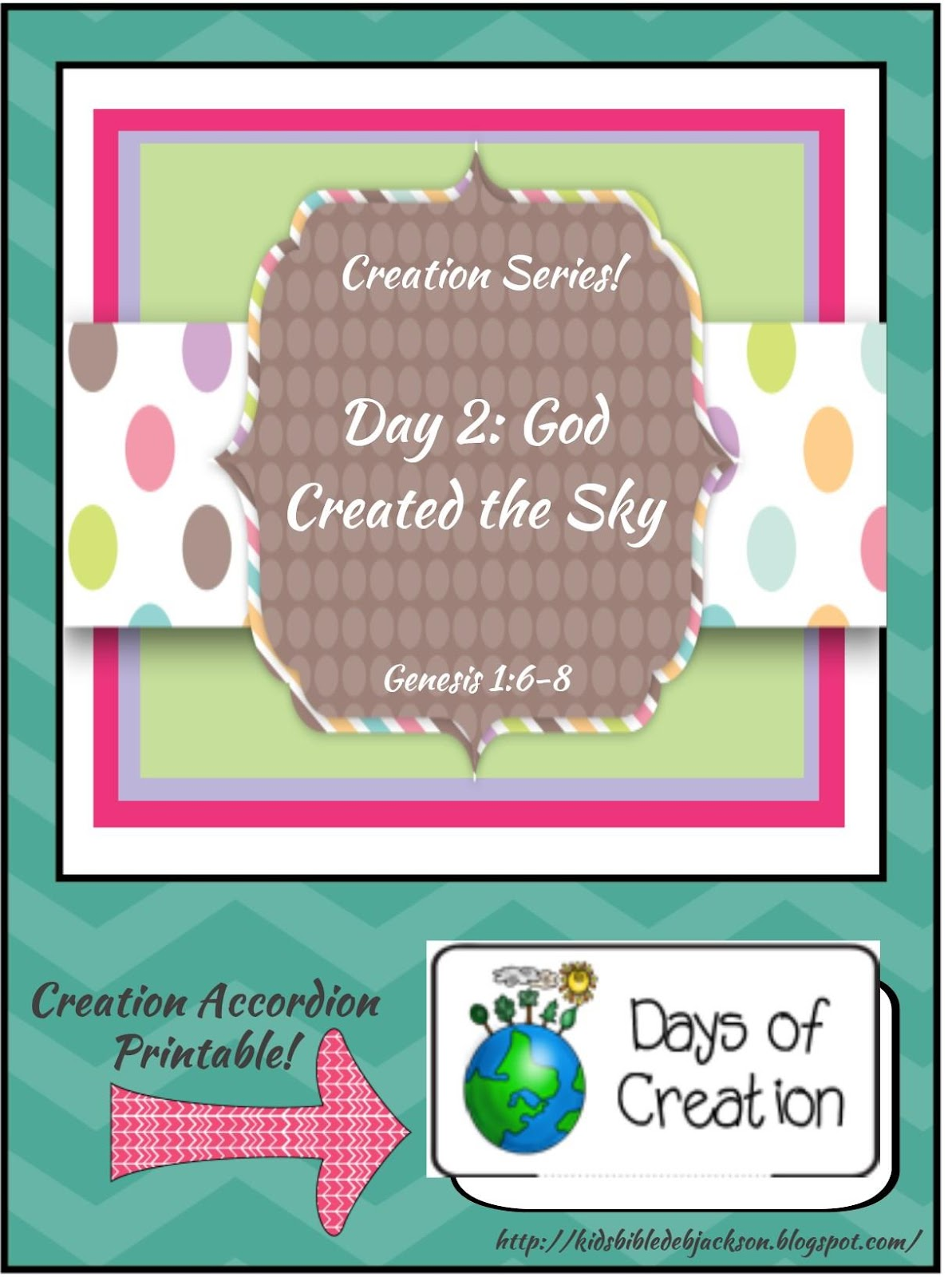 Bible Fun For Kids Creation Preschool Projects