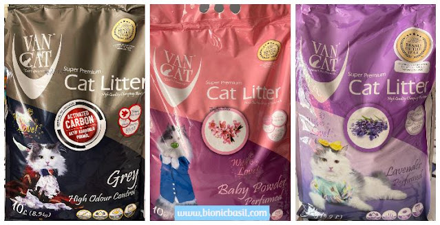What's In The Box ©BionicBasil® Vancat Premium Cat Litter