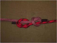 Simpul Nelayan Kembar Inggris (Fisherman's Knot)