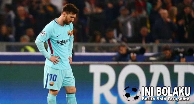 Messi masih Terluka Tersingkir Dari Liga Champions