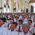 Giáo xứ Phú Giáo thay mặt giáo phận chầu Thánh Thể Chúa