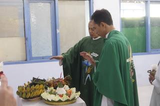 Misa Perdana Romo Agustinus Wahyu Dwi Anggoro S.J. di Gereja Santa Maria Fatima Pelem Dukuh