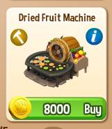 Dried Fruit Machine Royal Story