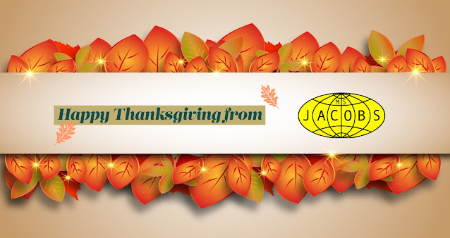 Happy Thanksgiving from M.S. Jacobs and Associates