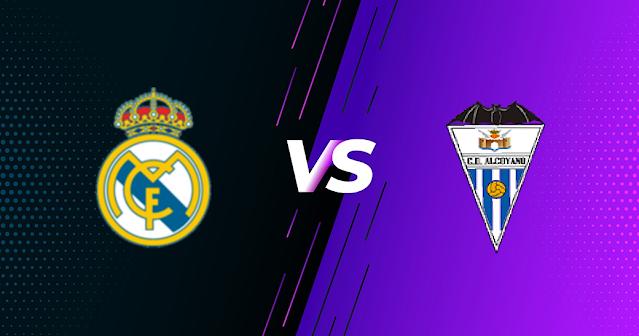 مشاهدة مباراة ريال مدريد وديبورتيفو ألكويانو بث مباشر فى كأس ملك إسبانيا 20-01-2021