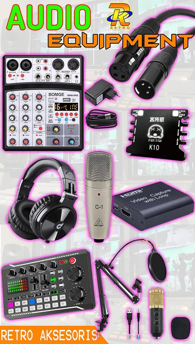 Menjual perangkat audio broadcast streaming di Lampung