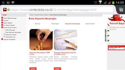 deposito online cimb niaga