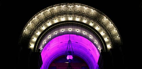 British Columbia Parliament Buildings Lights