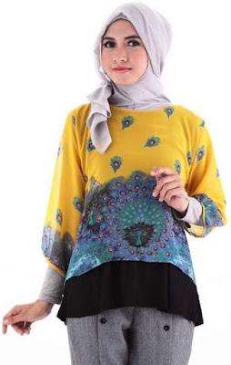 Model Baju Batik Remaja Lengan Panjang