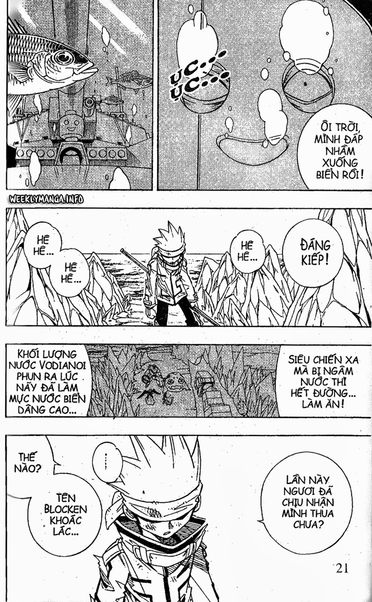 Shaman King [Vua pháp thuật] chap 185 trang 20