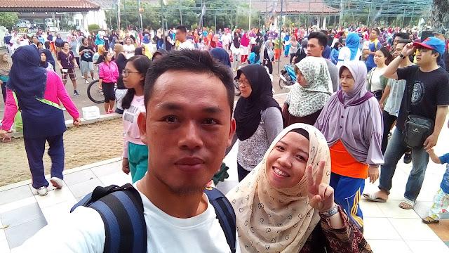Event dan acara mingguan senam jantung sehat di KI Palembang