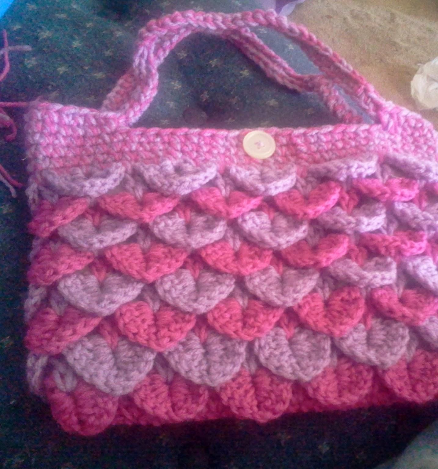 StormFly Crafts  Crocodile Stitch Purse 17179842716d0