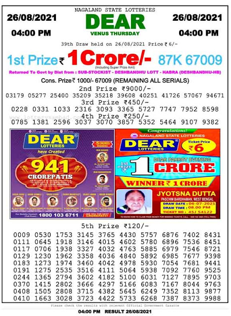 Nagaland-State-Lottery-Result-26-8-2021-4-PM