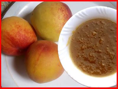 homemade peach marmalade