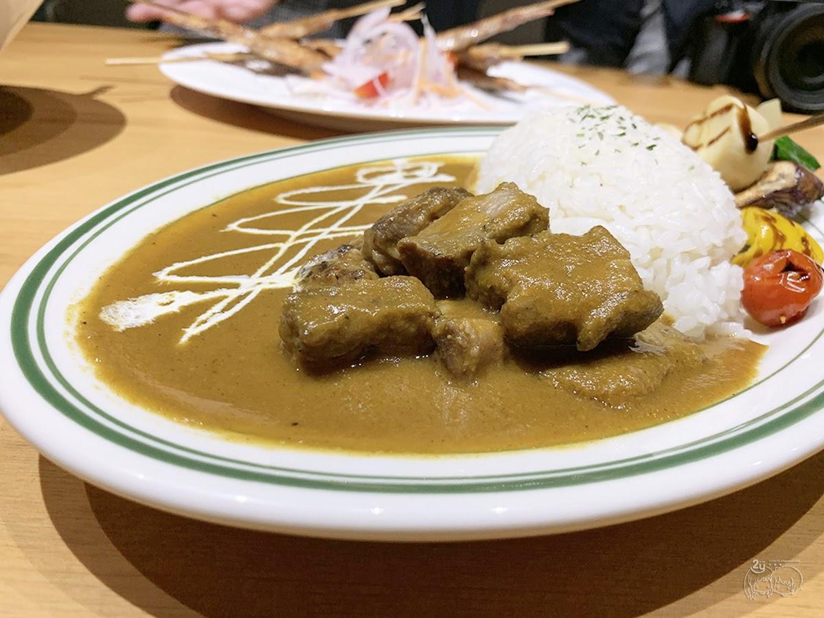 台南|北區 HI!咖哩|燒烤×咖哩的美饌|水果情懷的美味咖哩飯|台南咖裡推薦