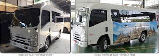 Isuzu ELF NLR 55 Microbus