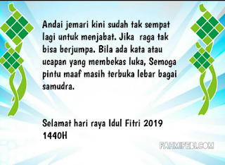 kata kata idul fitri 2019