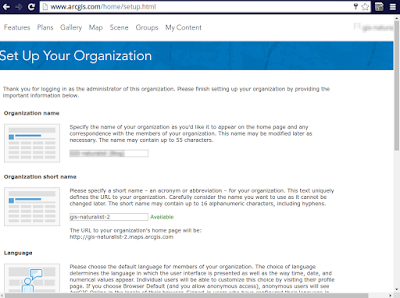 Set Up Your Organization ArcGIS Online