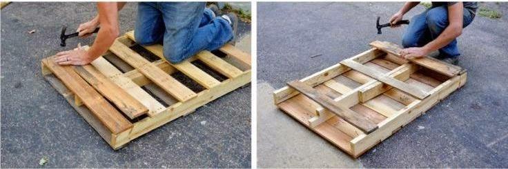 cara membuat meja dari pallet kayu bekas radium jual kertas