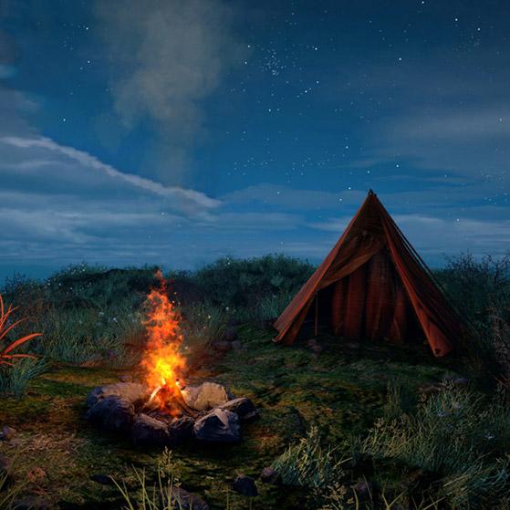 Camp ( Remix ) Wallpaper Engine