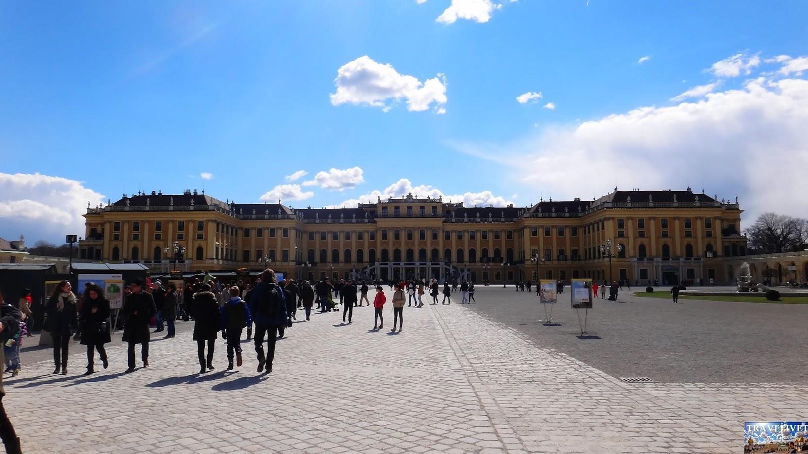 Autriche Vienne Le château de Schönbrunn