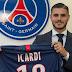 Icardi hivatalosan is a PSG játékosa