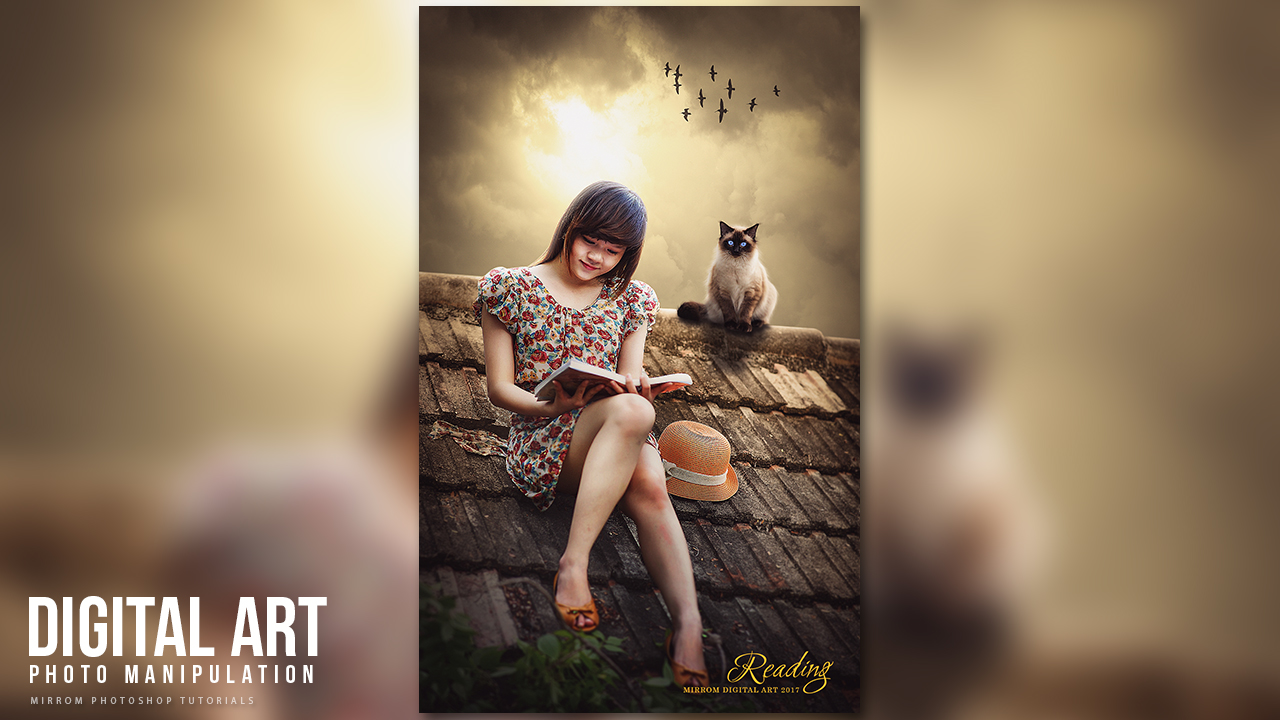 Create an Beautiful Portrait Photo Manipulation With Photoshop