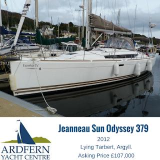 Jeanneau Sun Odyssey 379 for sale
