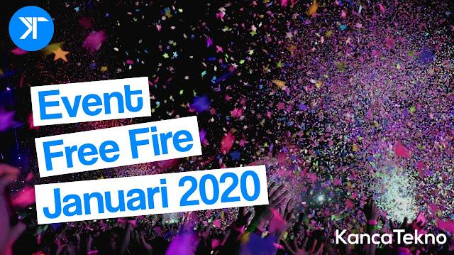 Event T.R.A.P Free Fire Januari 2020, Gratis Skin Scar Blood Moon Permanen