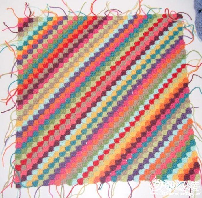 Patchwork a crochet y tricot 5 formas diferentes