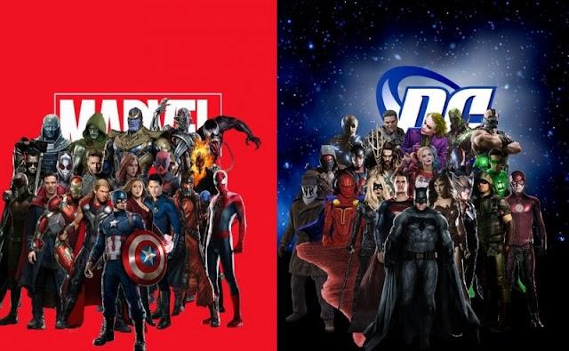 Novo Calendário de Filmes Marvel e DC
