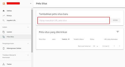 Daftarkan Sitemap ke Google