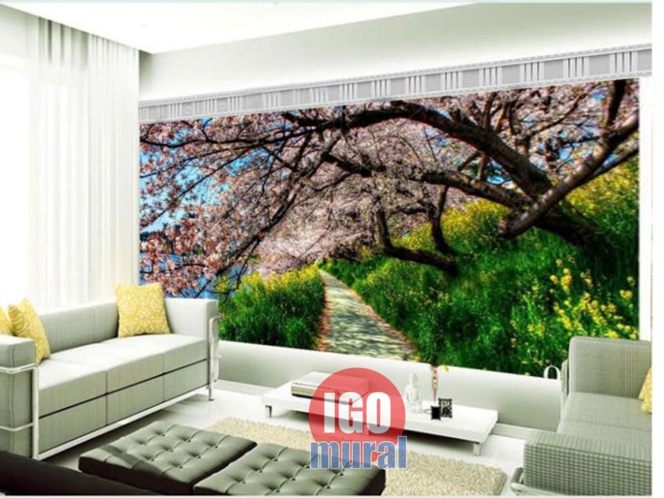 Wallpaper pemandangan Bunga