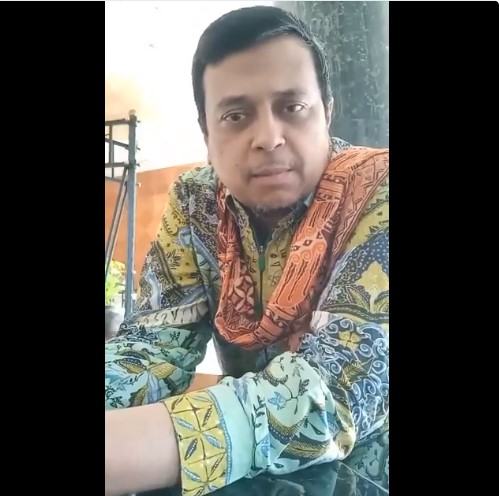 Video Cinta Ustaz Haikal untuk Prabowo: Kami Mencintai Antum