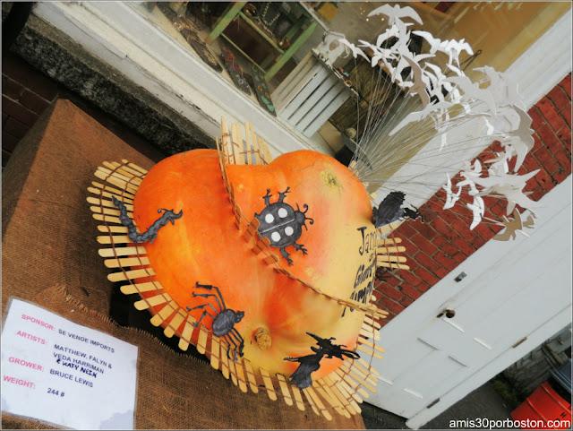 Calabazas Decoradas para Halloween: James y la Calabaza Gigante
