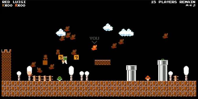 Mario'nun Battle Royale Oyunu Çıktı