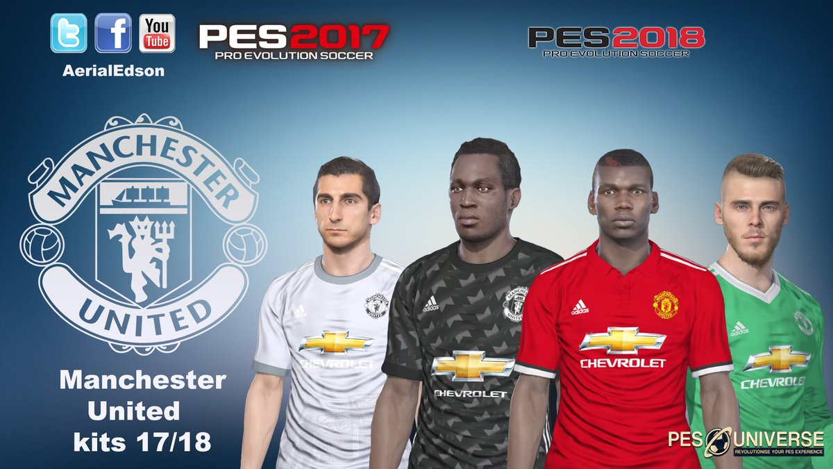 41238adc5 PES 2017 MU 17 18 Kits by Aerial Edson