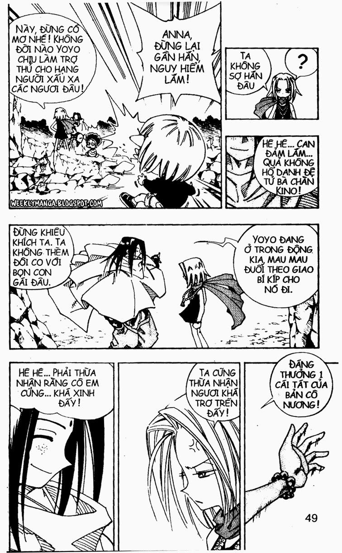 Shaman King [Vua pháp thuật] chap 106 trang 10