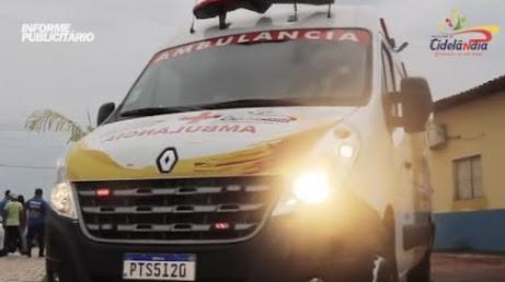 Prefeito Fernando Teixeira entrega mais uma ambulância e também a nova sede provisória da SEMUS!!!