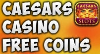 Caesars casino free coins and bonus code