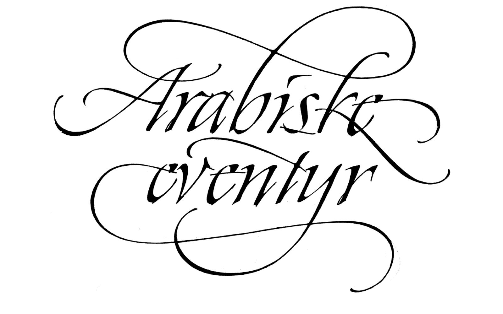 New Zealand Calligraphers: Christopher Haanes