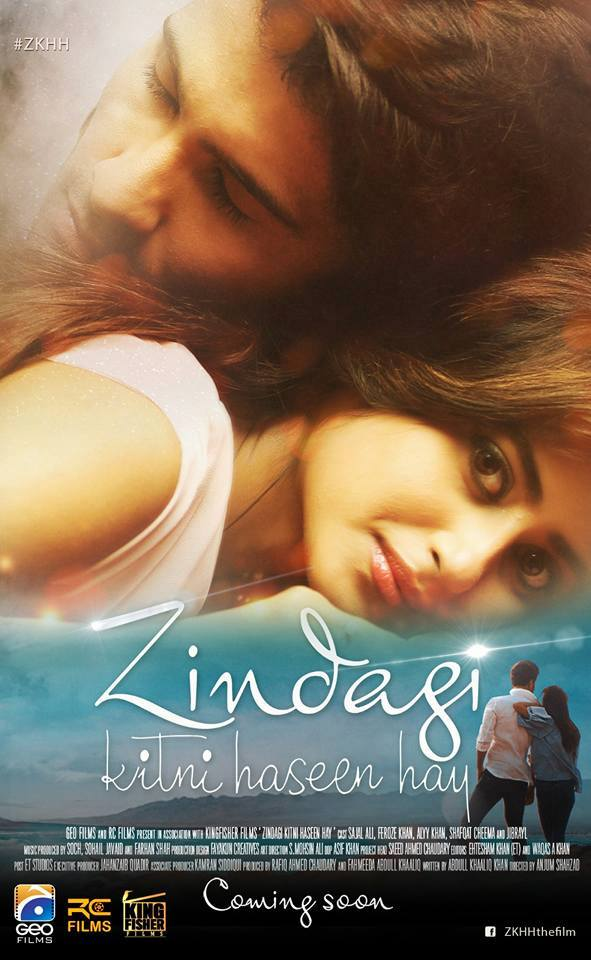 Poster Of Urdu Movie Zindagi Kitni Haseen Hay 2016 Full HD Movie Free Download 720P Watch Online